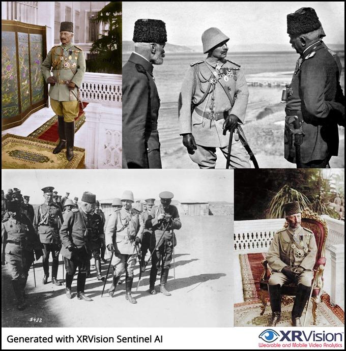 Kaiser Wilhelm II. in Turkish marshal uniform