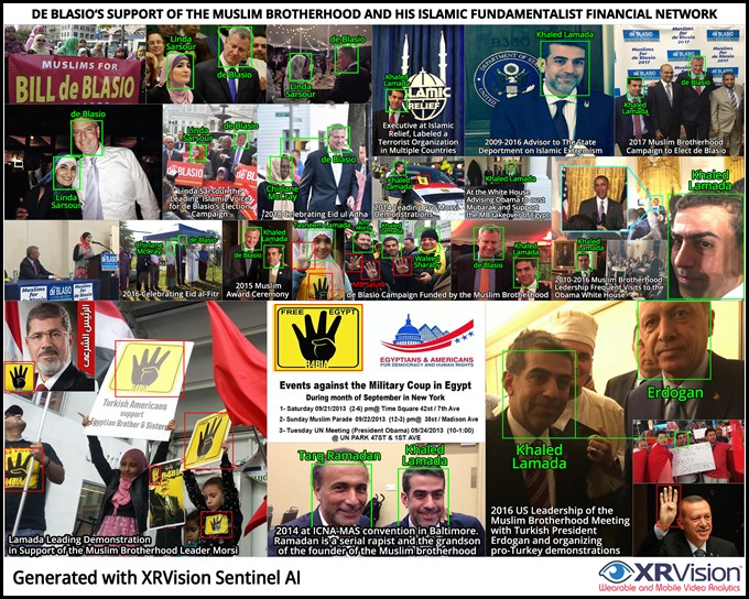 de Blasio and his Muslim Brotherhood Network Support