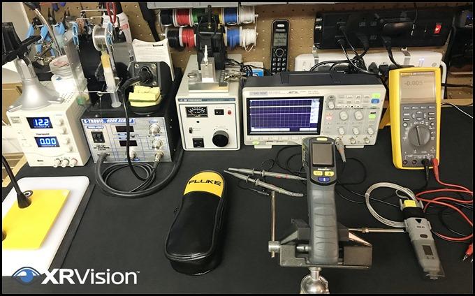 IR Thermometer Test Setup
