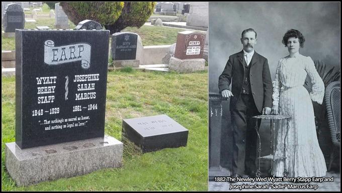 Wyatt Earp and Josephine Marcus Grave