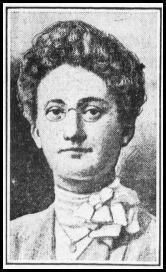 Portrait Florance Valentine Holtz