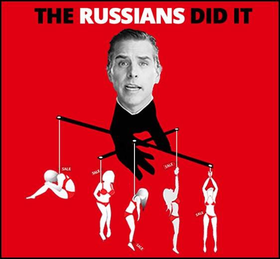 The Russians made me do it