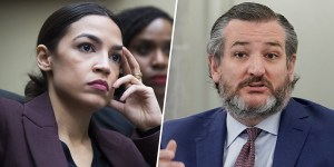 Ted Cruz and AOC Sides with Retail Investors