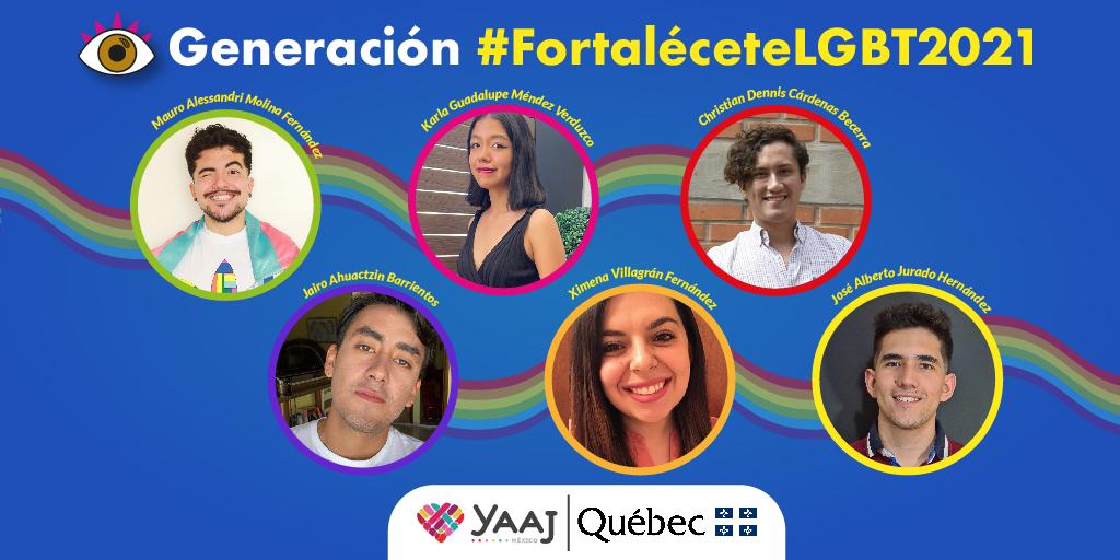 ¡Tenemos generación #FortaléceteLGBT2021!