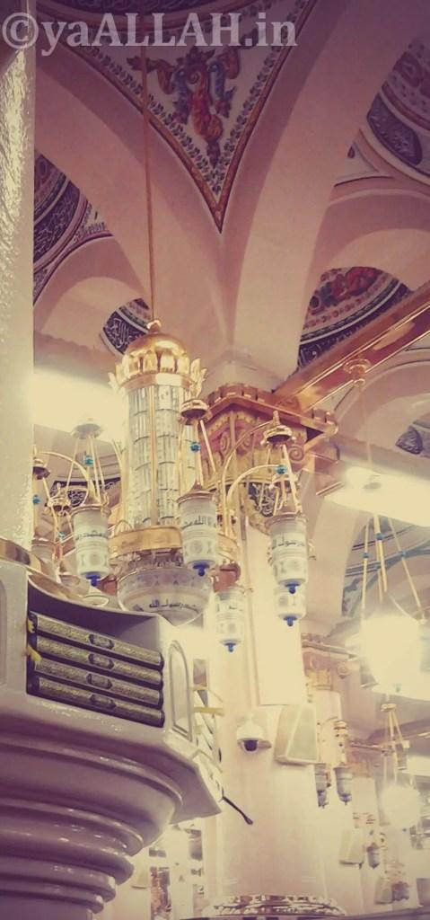 Masjid Nabawi Wallpaper At Night_yaALLAH.in_11