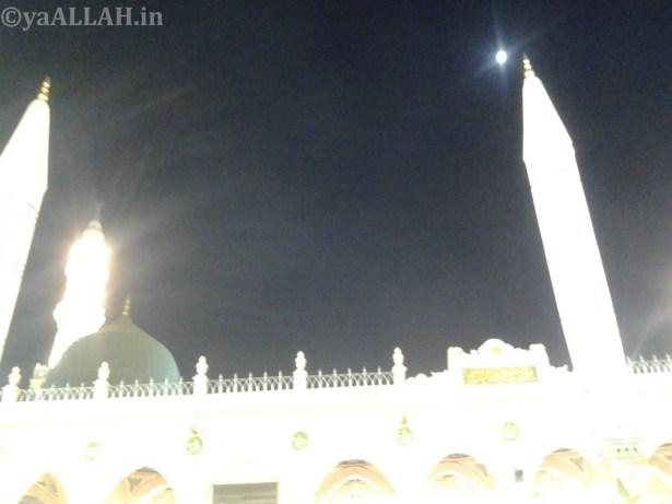 Masjid Nabawi Wallpaper At Night_yaALLAH.in_25