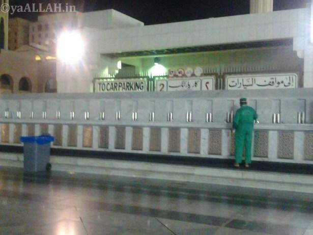 Masjid Nabawi Wallpaper At Night_yaALLAH.in_31