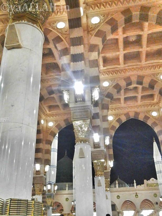 Masjid Nabawi Wallpaper At Night_yaALLAH.in_5