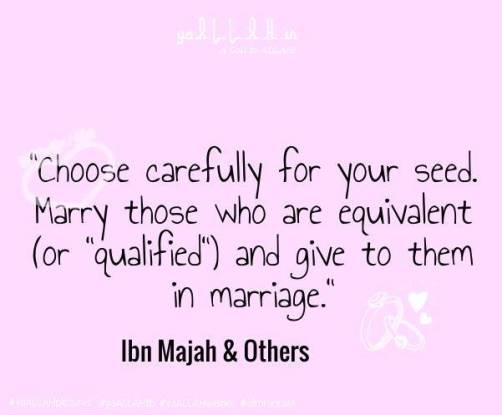 marriage Hadith-yaALLAH.in #yaALLAHpictures