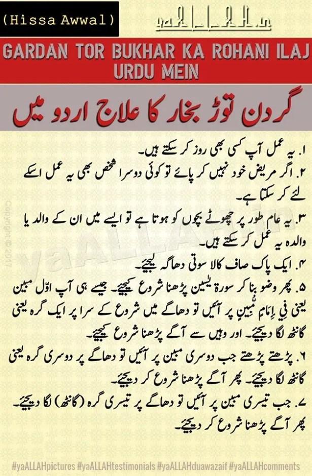 dimaghi gardan tor bukhar ka rohani ilaj urdu-meningitis tibbe nabvi-yaALLAH-1
