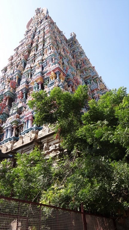 Maduraï Gopuram dravidien de Maduraï