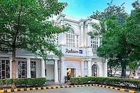 Inde New Delhi maison coloniale blanche