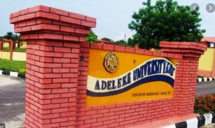 Adeleke University (ADELEKE)