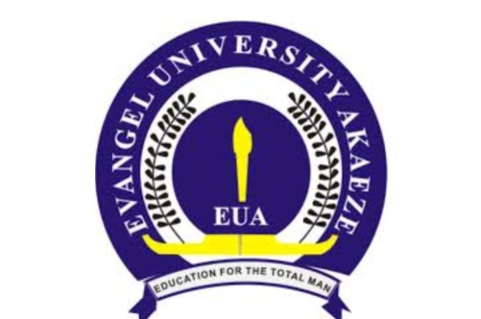 Evangel University (EUA) Post UTME / Direct Entry Admission Screening Form for 2020/2021 Academic Session [See How To Apply]