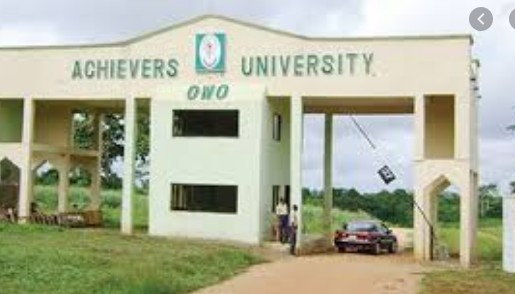 Updated: Official List of All Accredited Courses Offered In Achievers University (ACHIEVERS)