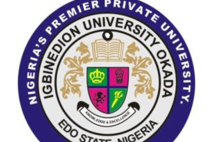 Igbinedion University School Fees Schedule for 2020/2021 Session