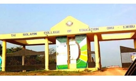 Tai Solarin College of Education (TASCE) NCE Post UTME Form for 2020/2021 Session
