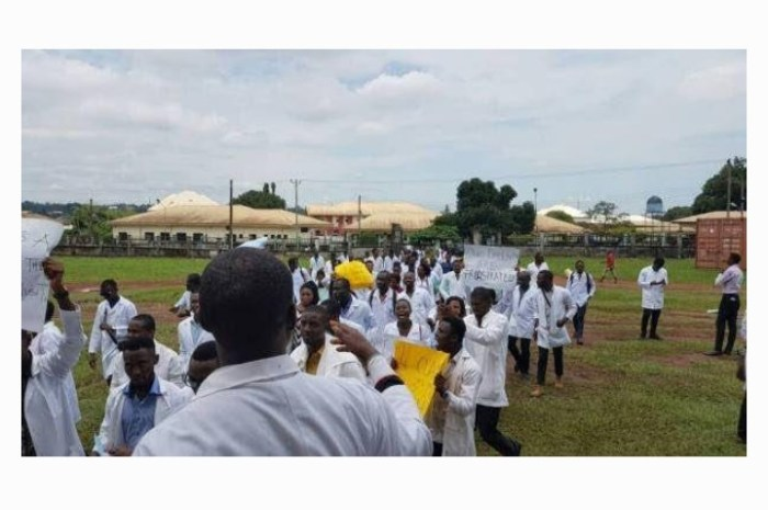 IMSU Medical Students Protest After Spending 11-Years in School