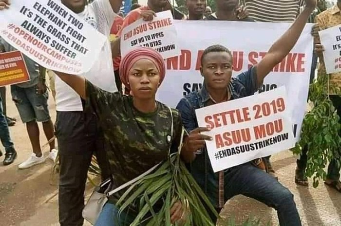 Benue Universities' Students Protest Prolonged FG/ASUU Face Off