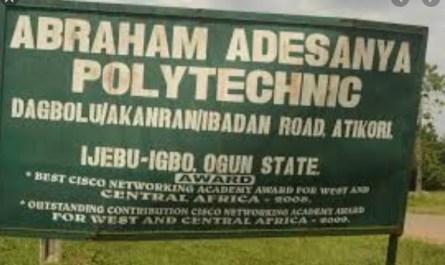 Abraham Adesanya Polytechnic (AAPOLY)