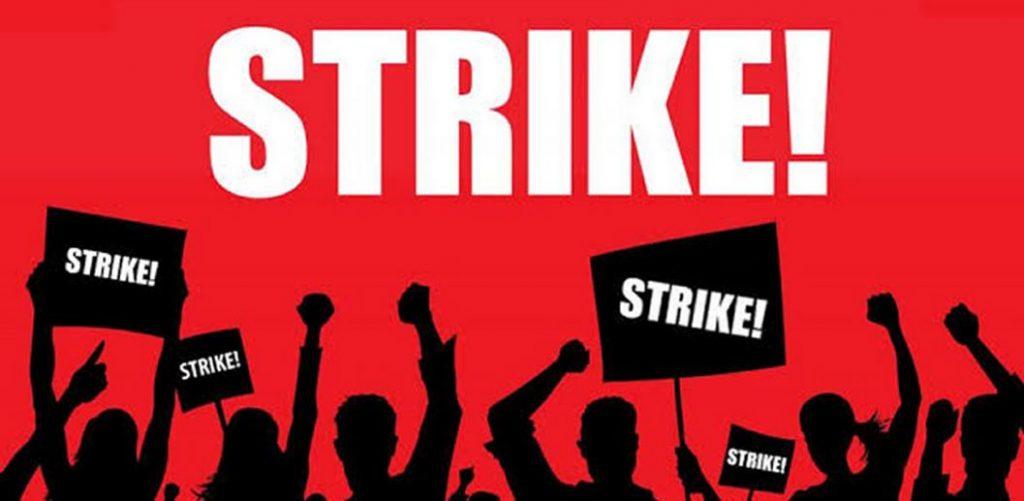 Strike Industrial Action image