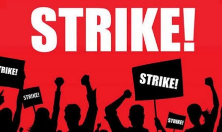 Strike Industrial Action image