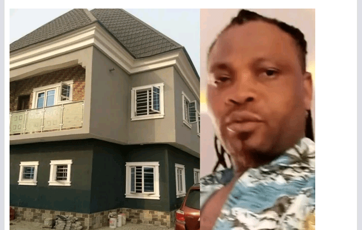 African China Shows Off His New House