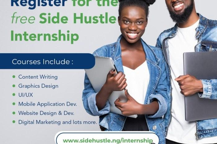 Side Hustle Internship – Amazing way to develop oneself!