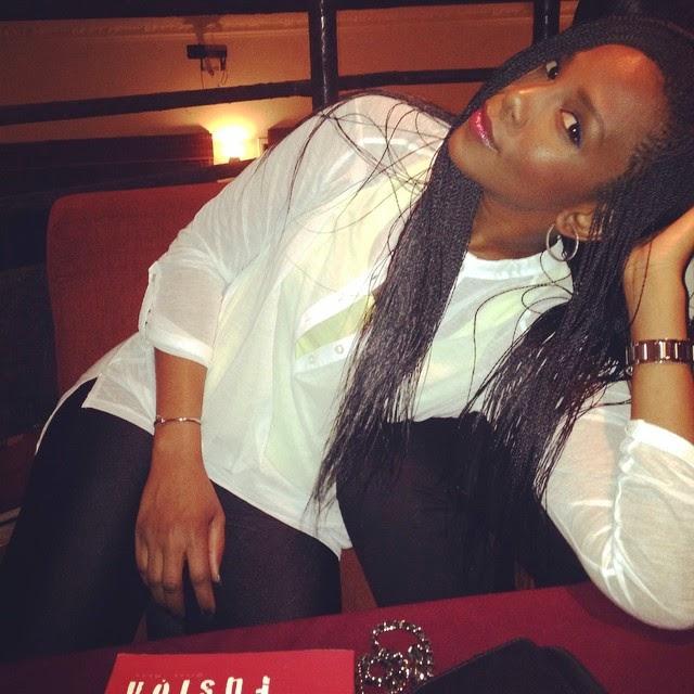 Genevieve Nnaji on braids