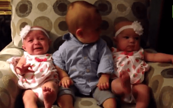 Baby Meets Twins