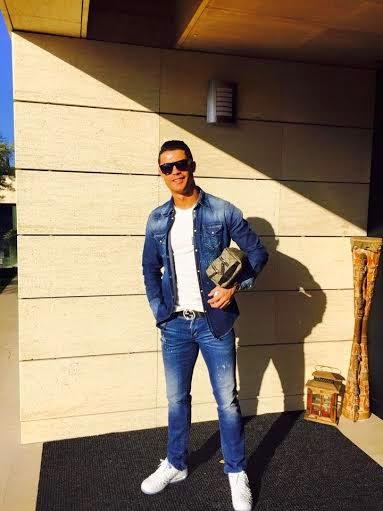 Christiano Ronaldo Shows Off