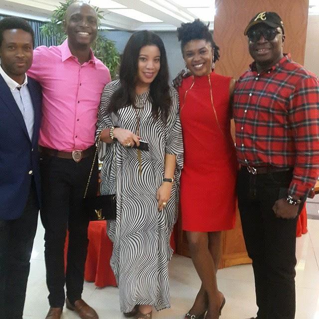 Omoni Oboli's Birthday Dinner