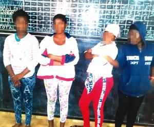 Rescued Burkina Faso Girls