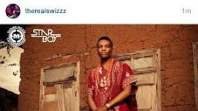 Wizkid's Ayo Album cover posted by Swizz Beatz on his Instagram page