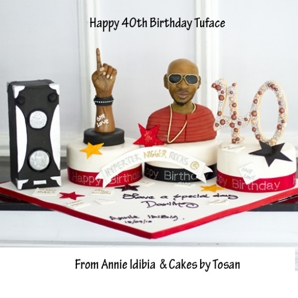 You Need To See The Birthday Cake Annie Got 2face Idibia