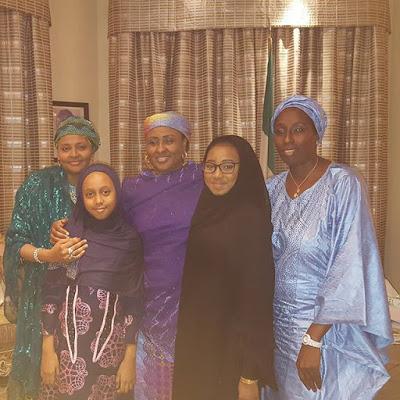 Abachas Visit Buhari