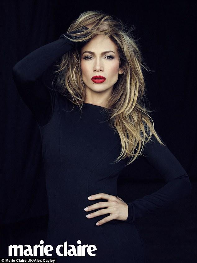 Jennifer Lopez Marie Claire1
