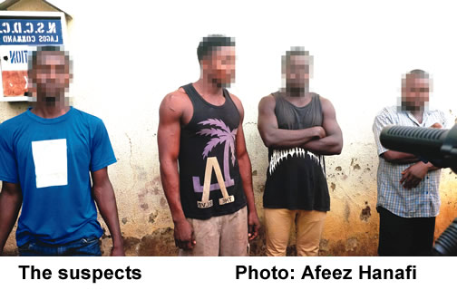 The-suspects That raped Five Year Old Girl