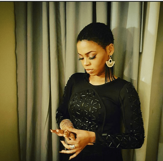 Chidinma-Stuns-In-Black-Photo