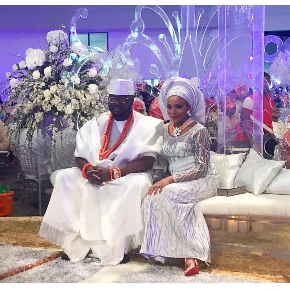 Photo Gallery Nigerian Wedding: Top Nigerian Celebrity Weddings That Took Place Outside