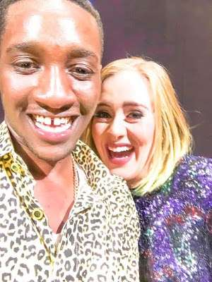 Adele and Nigerian guy