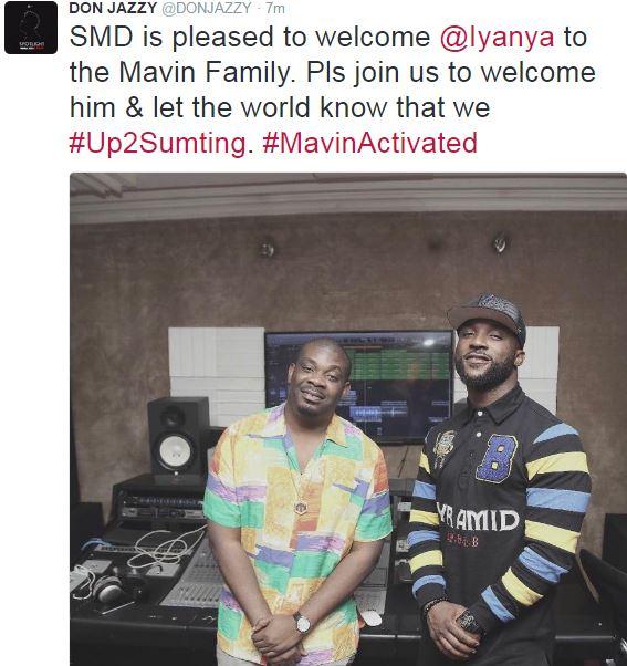 iyanya-join-mavin