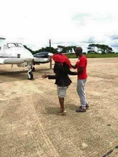 Nkisu buys private jet1