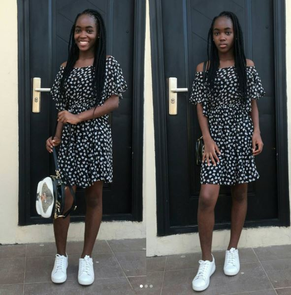 Mercy Aigbe one and only daughter aschoolz.com