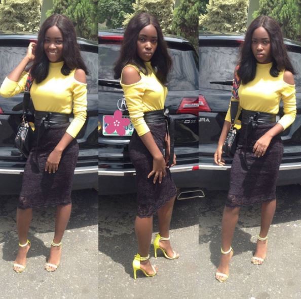 Mercy Aigbe daughter Michelle photos