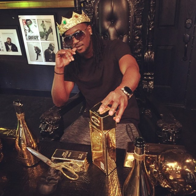 p-square's paul okoye flaunts luxury gold