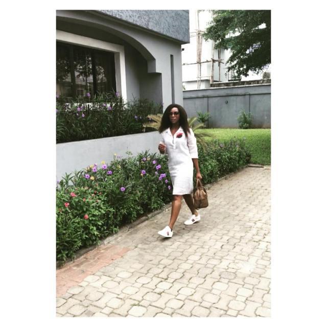 Genevieve Nnaji Looks Elegant