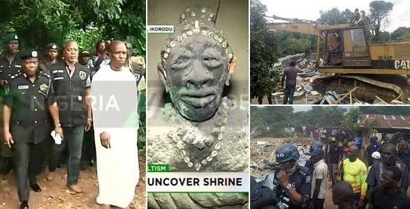 Alleged Badoo shrine