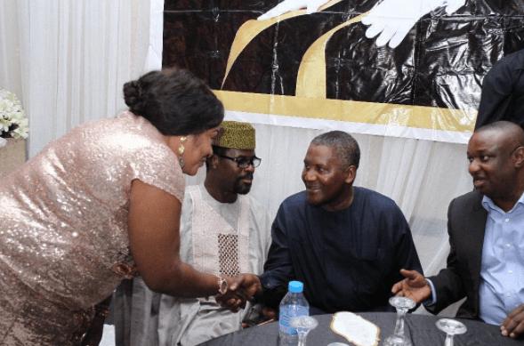 Foluke Daramola shares encounter