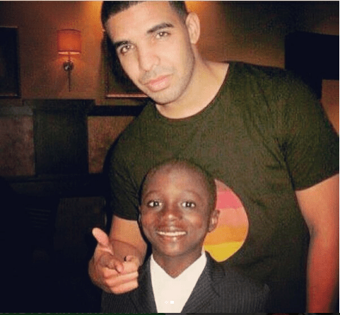 Kemi Olunloyo thanks Drake